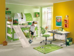 Оформление комнаты для мальчика