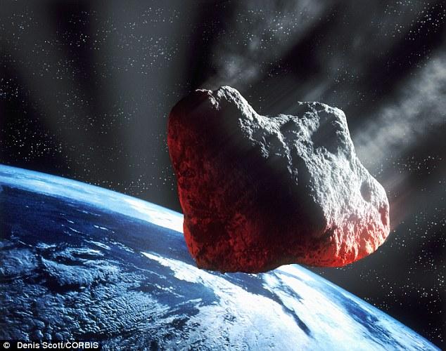НАСА опровергло факт скорого столкновения метеорита с Землей