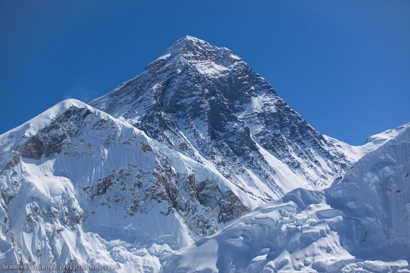 Эверест не пострадал от разрушительного землетрясения, идущего из Непала