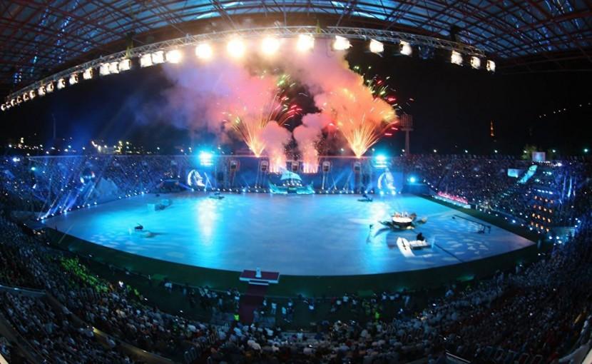 Успехи олимпийского фестиваля в Тбилиси