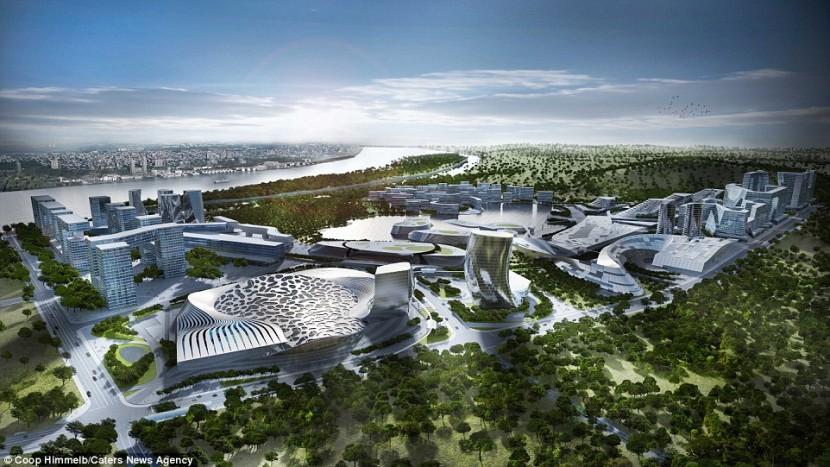 Курорт Даванг в Китае не перестает расширяться
