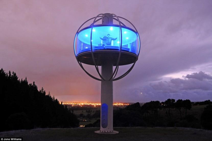 В Австралии построили уникальный дом-башню