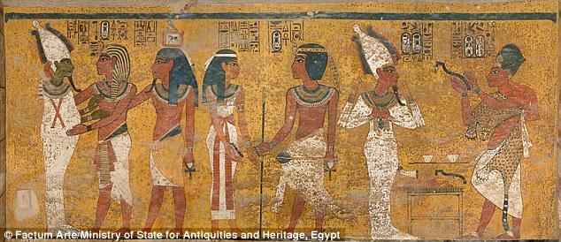 В гробнице фараона Тутанхамона найдена скрытая погребальная комната царицы Нефертити