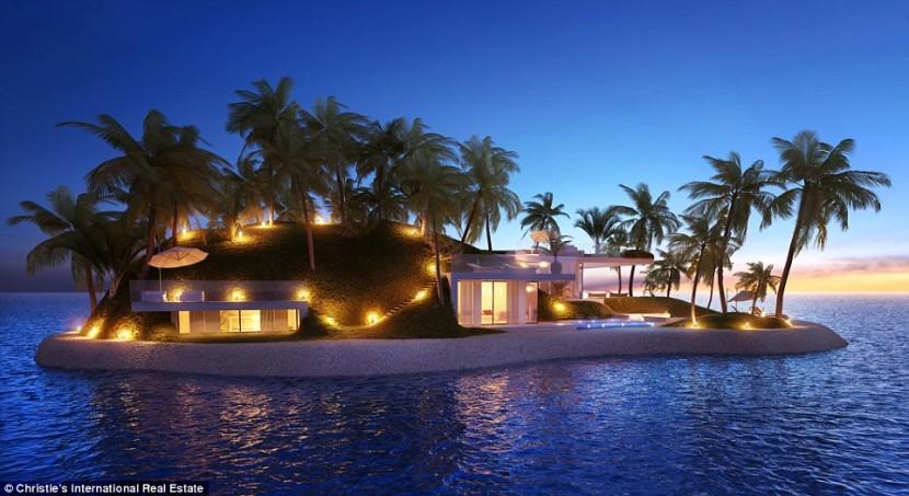 На Мальдивских островах построят отдельный туристический атолл люкс-класса