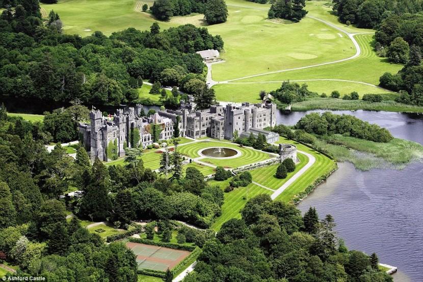 Самый роскошный отель в мире — замко Эшфорд в Ирландии