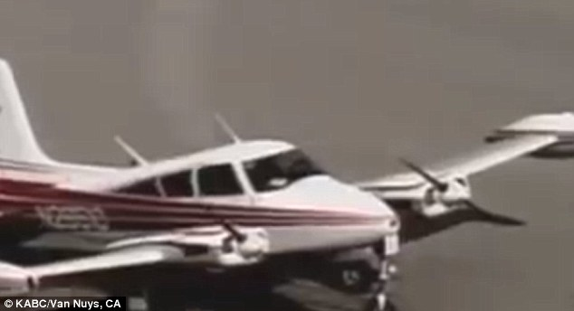 Пилот сумел посадить самолет с отказавшим двигателем в Лос-Анжелесе