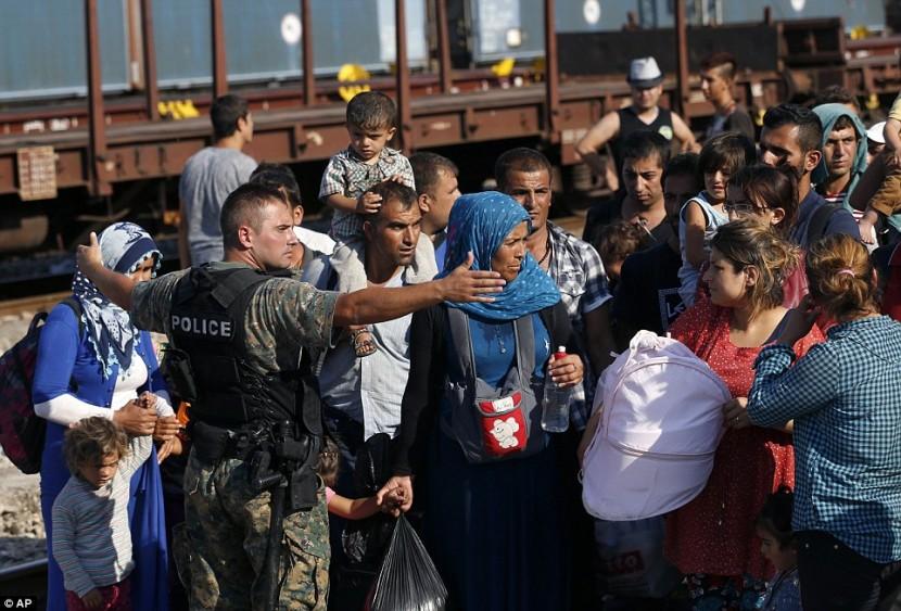 Беспорядки в Македонии, вызванные кризисом мигрантов