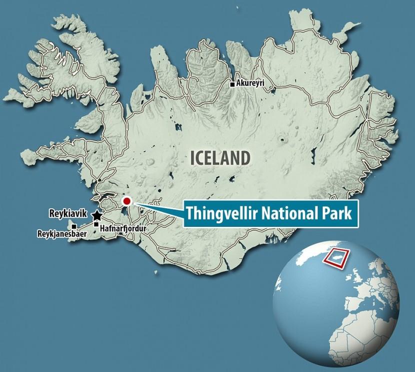 Столкновение тектонических плит в Исландии оказалось не опасным происшествием
