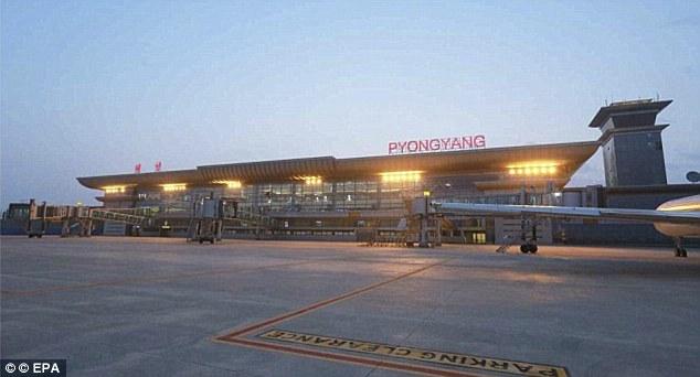 Северная Корея открыла новый терминал в аэропорту Пхеньяна