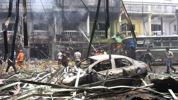 В одном из таиландских храмов разорвалась бомба