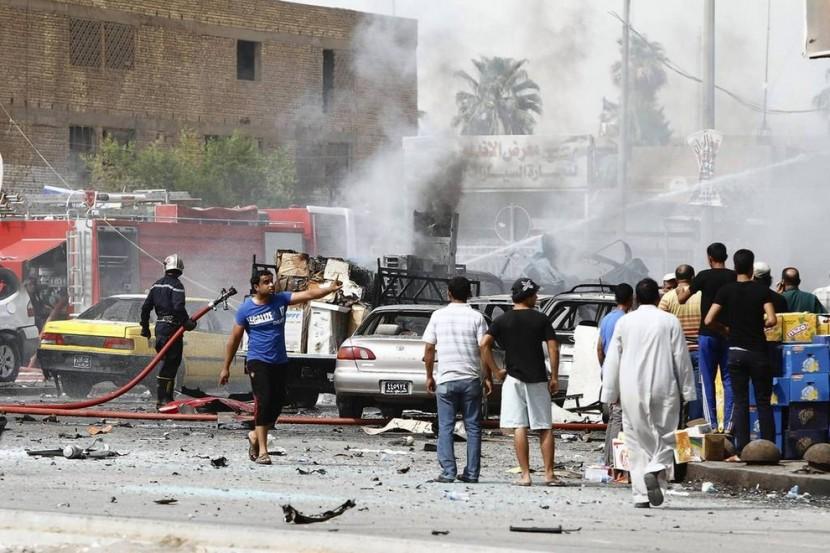 Теракт в Багдаде — ответственность взята сторонниками ИГ