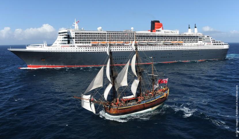 В Австралии снимут на воду пассажирский лайнер «Королева Мария II»