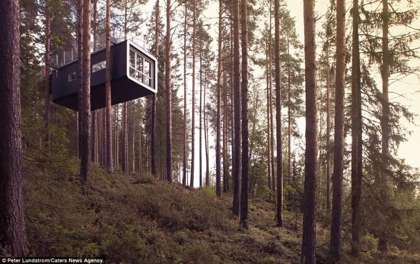 В Швеции создан концепт «отеля-НЛО»