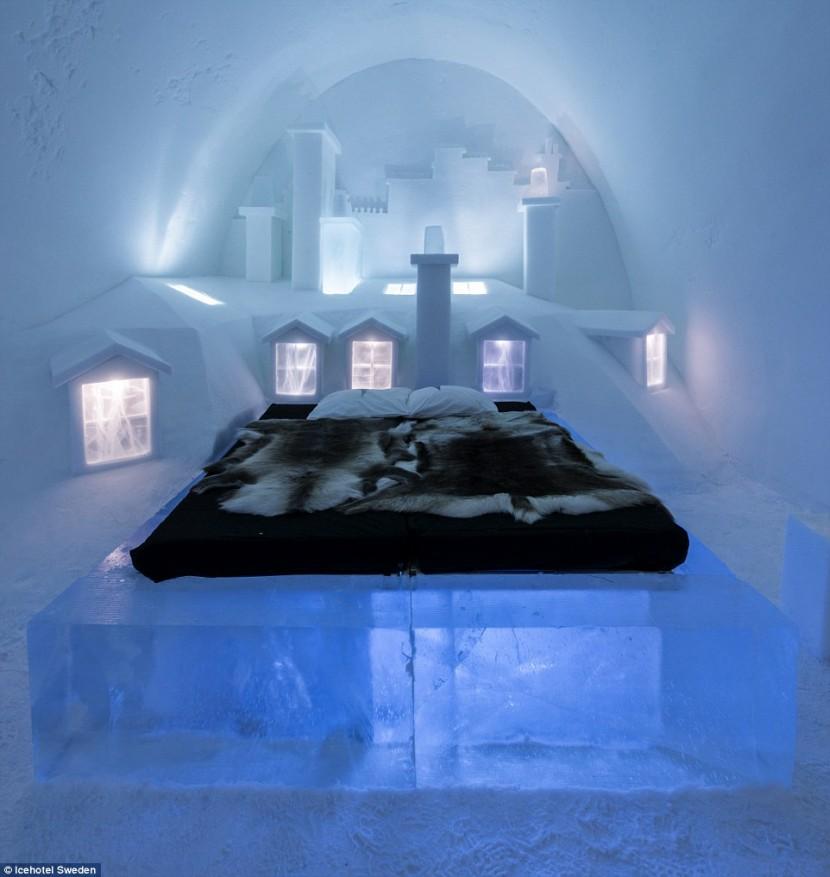 В Швеции откроют «ледяной» отель
