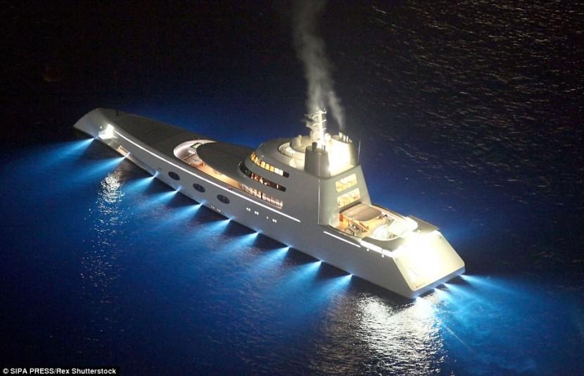 Русский миллиардер создал невероятный концепт яхты