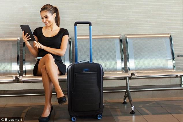 Созданы чемоданы со встроенным GPS-модулем