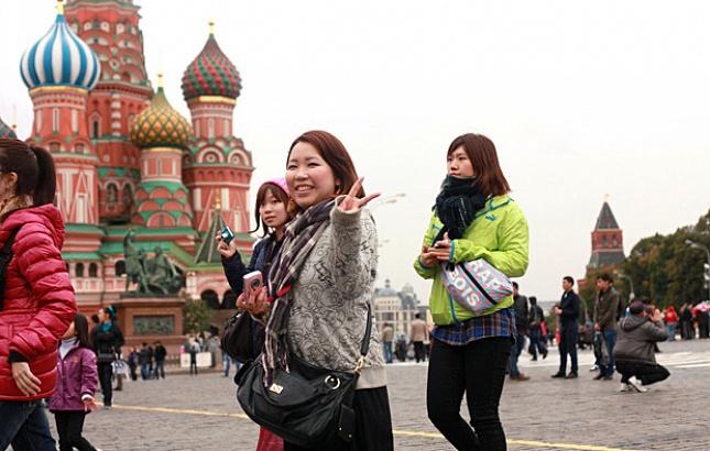 Россия становится популярным туристическим направлением у китайских туристов