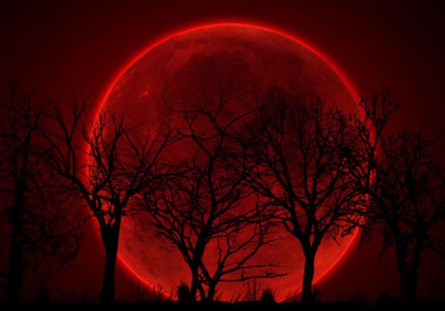 Астрономы объявили о скором появлении «Кровавой луны»