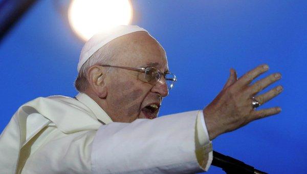 Папа Римский Франциск выступил в Филадельфии