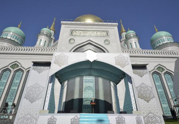 Открытие новой мечети в Москве
