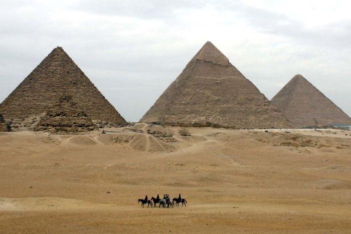 В Египте вновь исследуются известные пирамиды