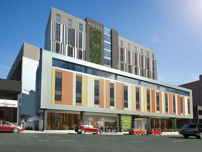В Хобарте увеличивается количество отельных проектов