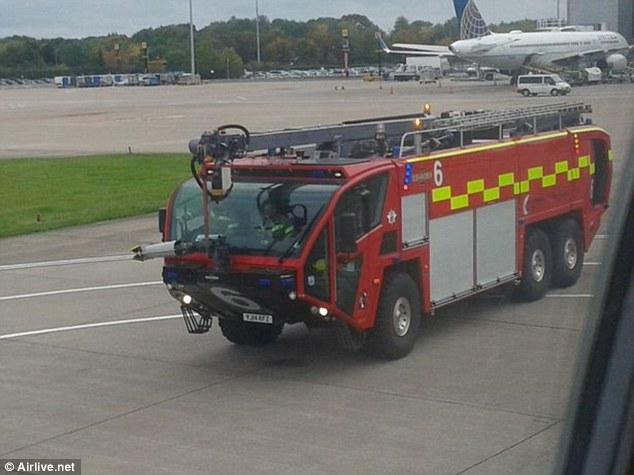 В Манчестере пилот аварийно посадил рейс, летевший в Малагу