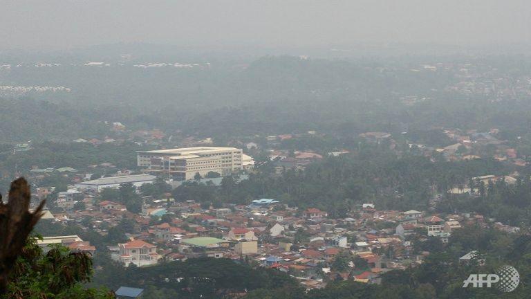 Филиппины покрыла густая мгла