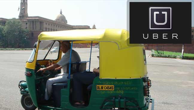 rickshaw-UBER