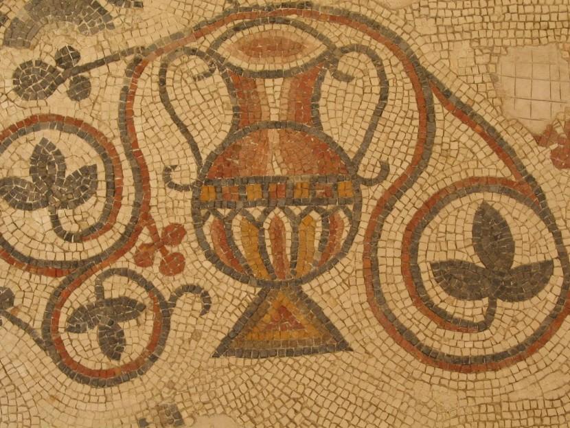 В Израиле обнаружена старинная византийская карта-мозаика