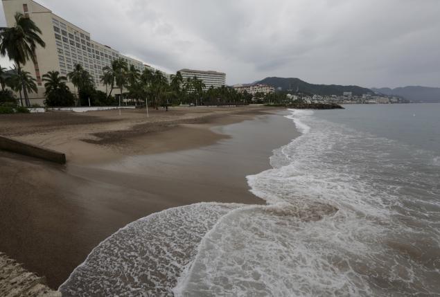На прибрежные районы Мехико обрушился ураган Патрисия