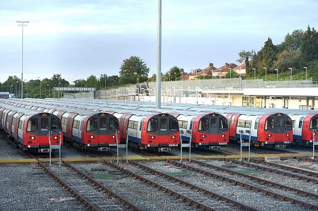 В Лондонском метро сегодня зарегистрирован наиболее массовый поток пассажиров