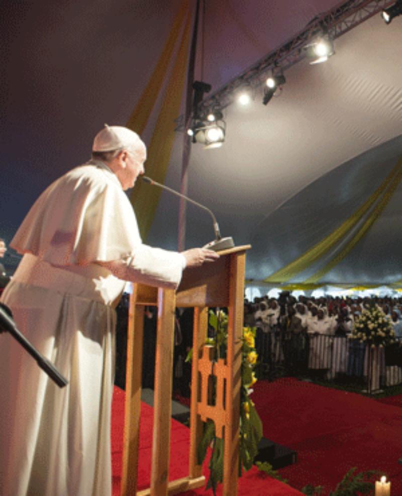 Папа Римский Франциск посетил Кению