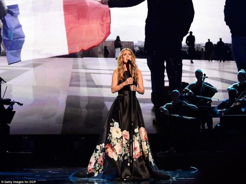 Селин Дион выступила в конкурсе American Music Awards