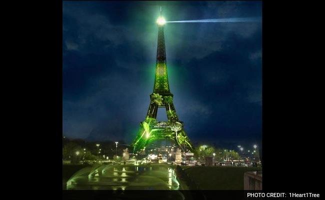 В Париже стартовал уникальный проект «1 Heart 1 Tree»