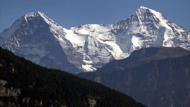 На высоте Юнгфрау в Швейцарских Альпах зарегистрирована необычайно высокая температура