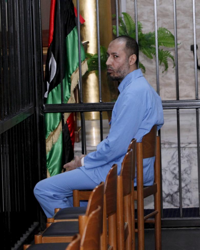 В Триполи перед судом предстал Саади Каддафи