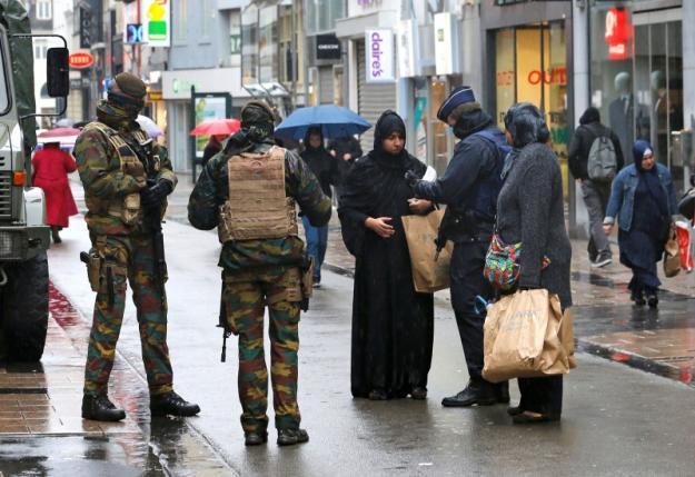 В Брюсселе повышены меры безопасности после парижских терактов