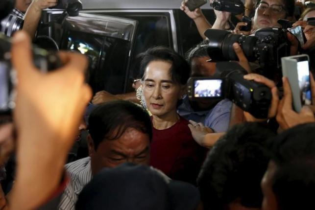 В Мьянме впервые состоялись выборы в парламент