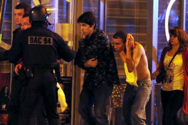Во Франции прогремела серия террористических атак