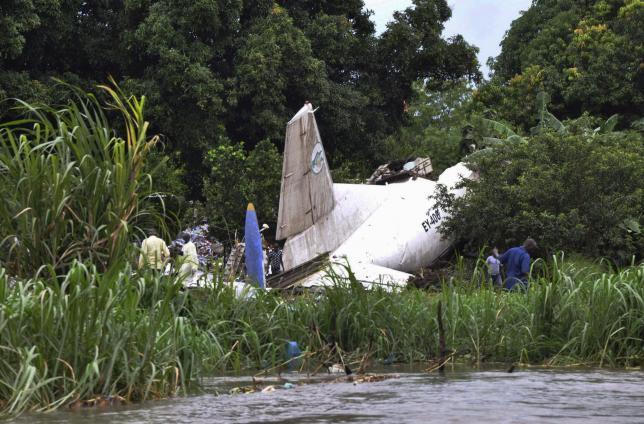 Российский грузовой самолет потерпел крушение в Южном Судане