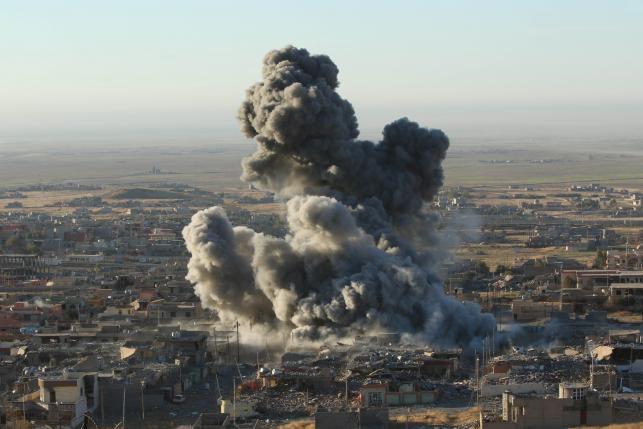 Курдские войска начали операцию по изъятию Синьяра на севере Ирака