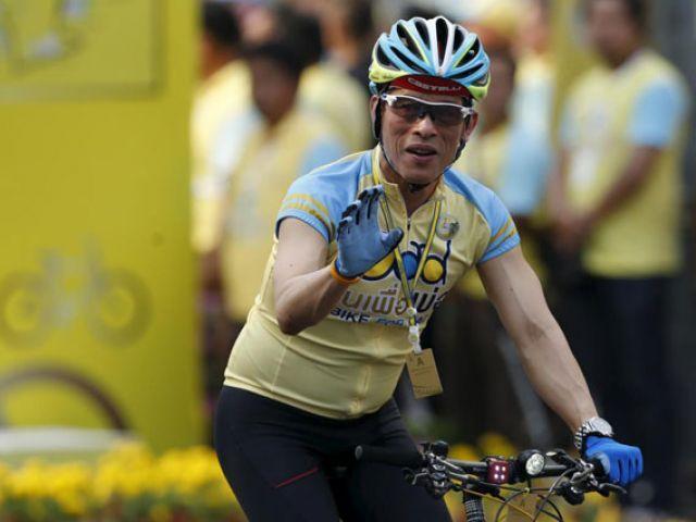 В Таиланде прошел велопробег в честь короля