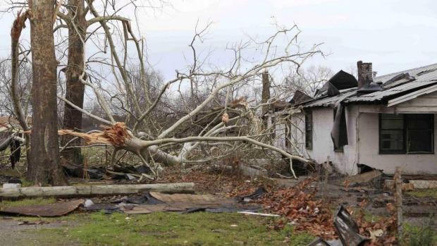 В Далласе прошла серия разрушительных торнадо