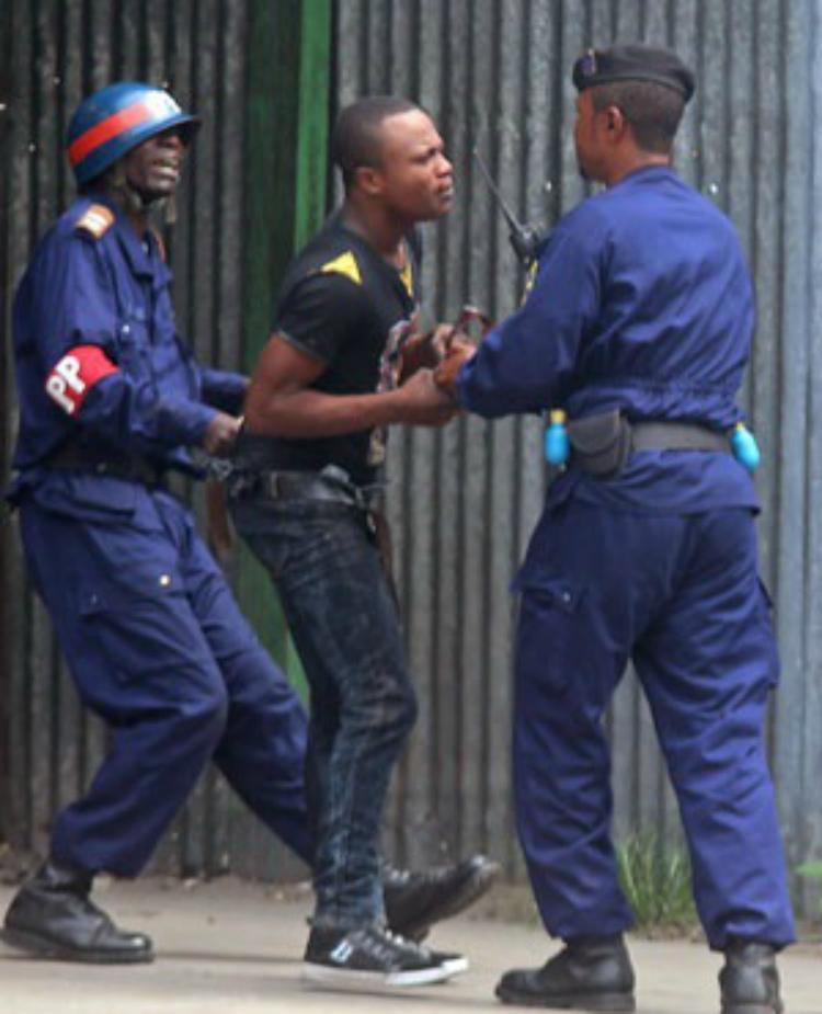 В Демократической Республике Конго людям дали право на протест