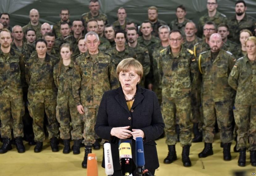 США требует больше помощи от Германии в Сирии