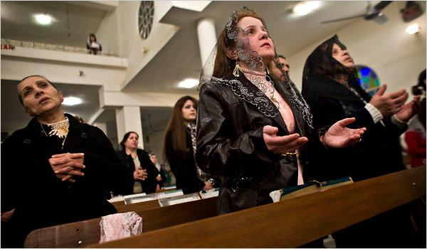 В иракской христианской общине проходит празднование Рожества