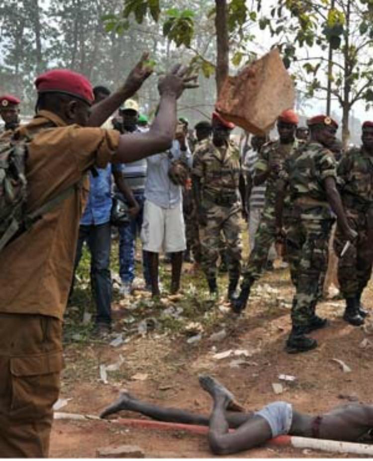 В Банги снова стреляют