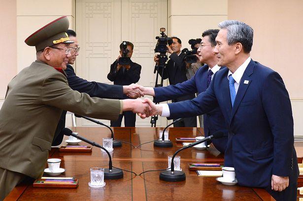 Между Северной и Южной Кореей произошли переговоры