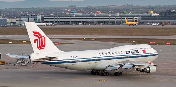 В провинции Шихуань, Китай провели новый воздушный путь в Париж